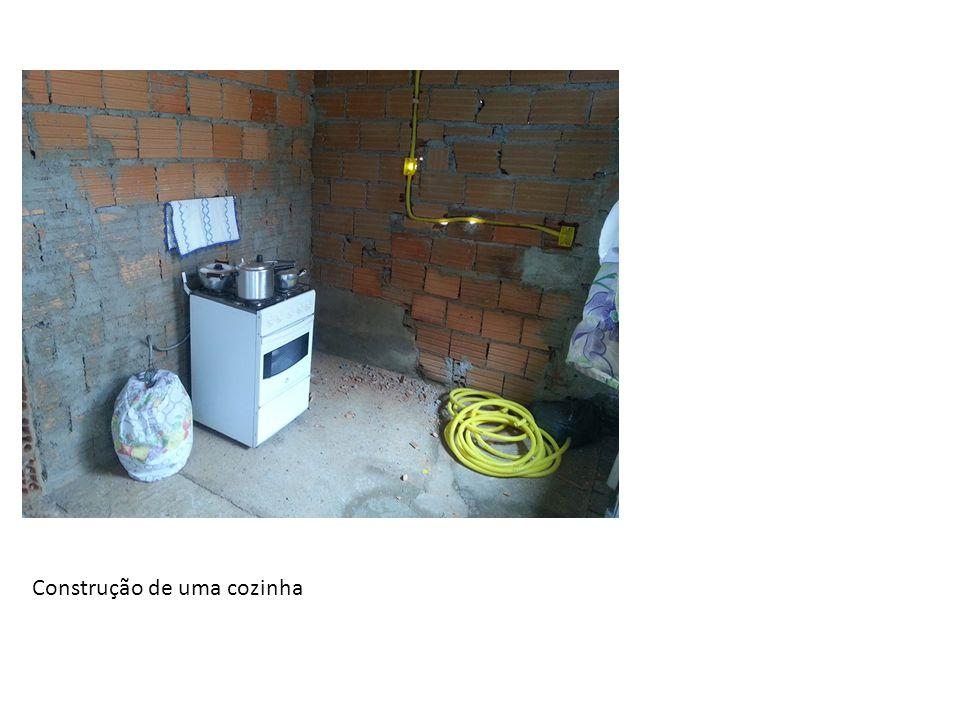 Construção de uma cozinha