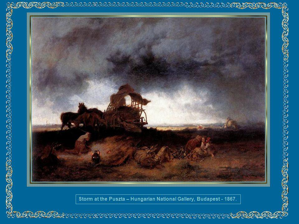 MUNKÁCSY, Mihály (1844, Munkács-1900, Endenich) Hungria Munkácsy foi um pintor húngaro muito conceituado no século XIX. Começou a pintar durante os an