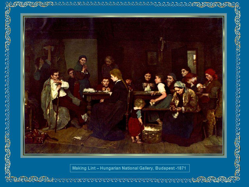 A sua obra foi dedicada ao realismo entre 1873 e 1875.