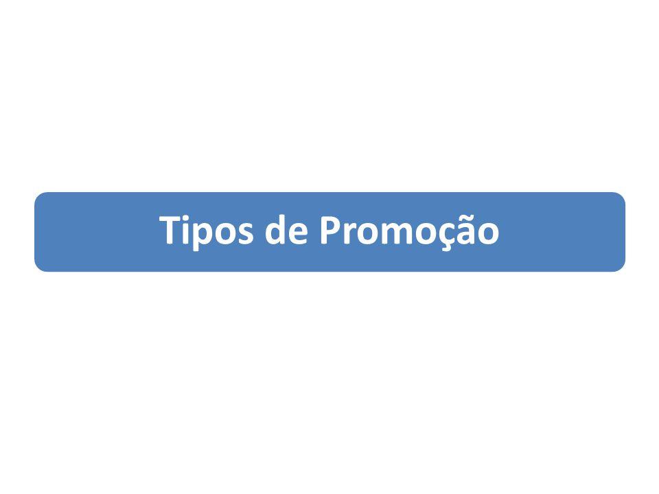 Tipos de Promoção