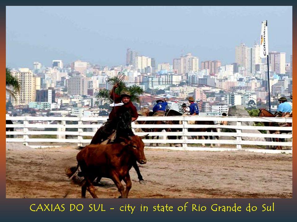 CAMPO GRANDE - capital of Mato Grosso do Sul