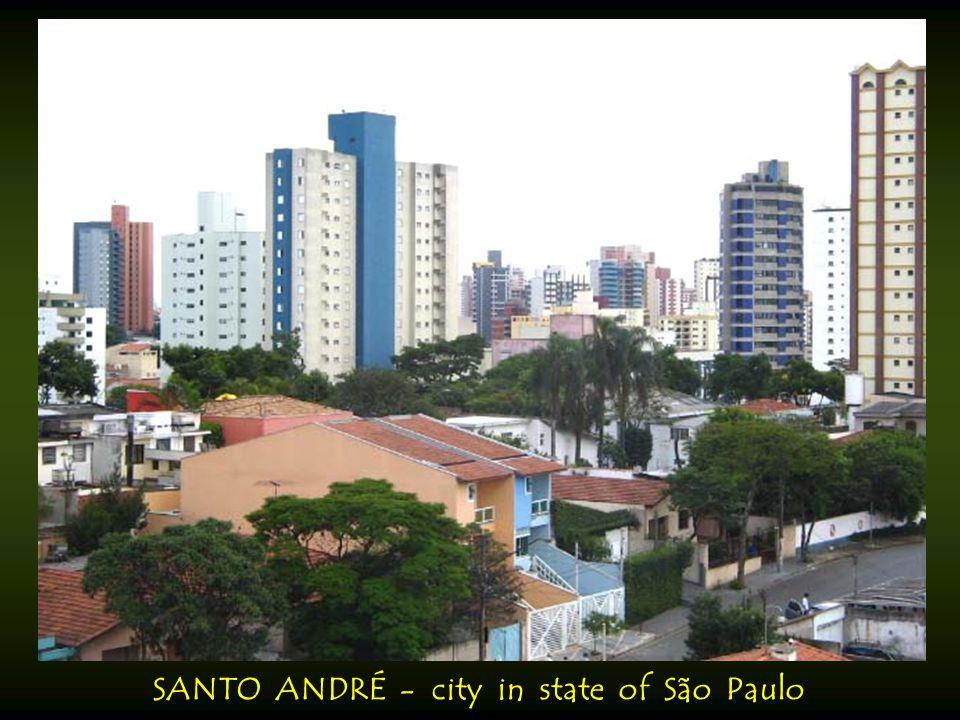 SANTARÉM - city in state of Pará