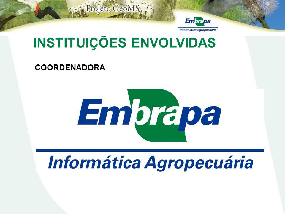 INSTITUIÇÕES ENVOLVIDAS COORDENADORA