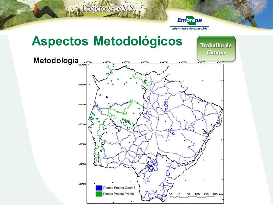 Aspectos Metodológicos Metodologia Trabalho de Campo