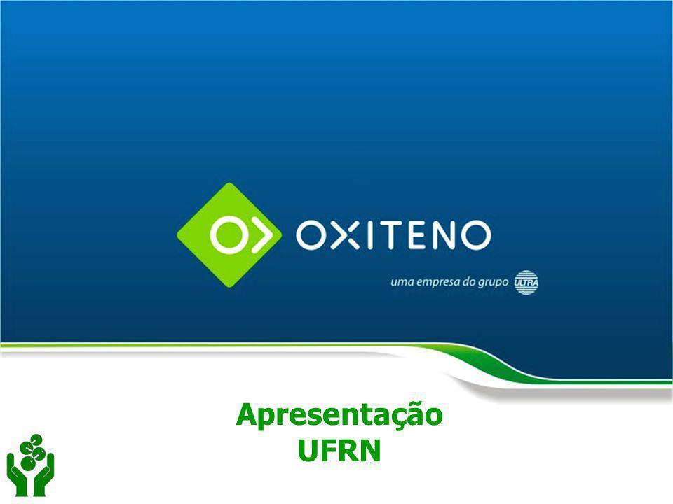 AGENDA Objetivo Oxiteno no Grupo Ultra Oxiteno na cadeia produtiva Linha de produtos Histórico Políticas e Estratégias Oxiteno Diretorias Internacionalização Escritórios / Unidades Industriais / PD&E Índices Financeiros Conclusão