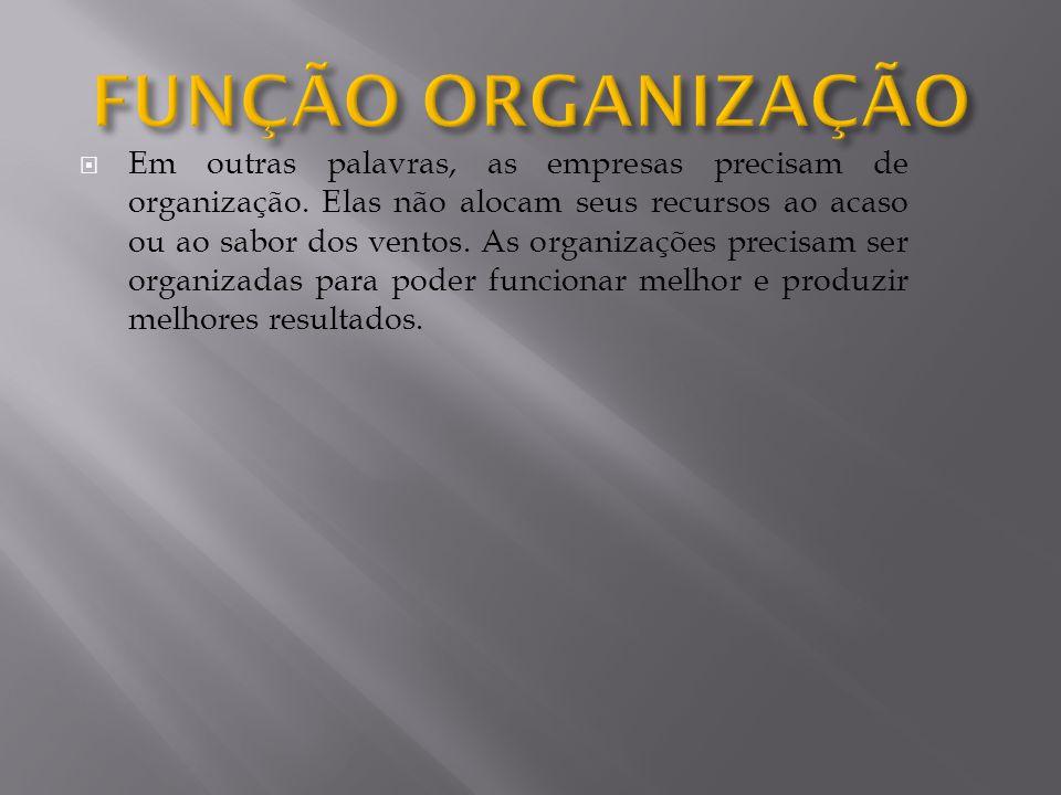 Organização linear - É a estrutura organizacional mais simples e antiga, baseada naautoridade linear.
