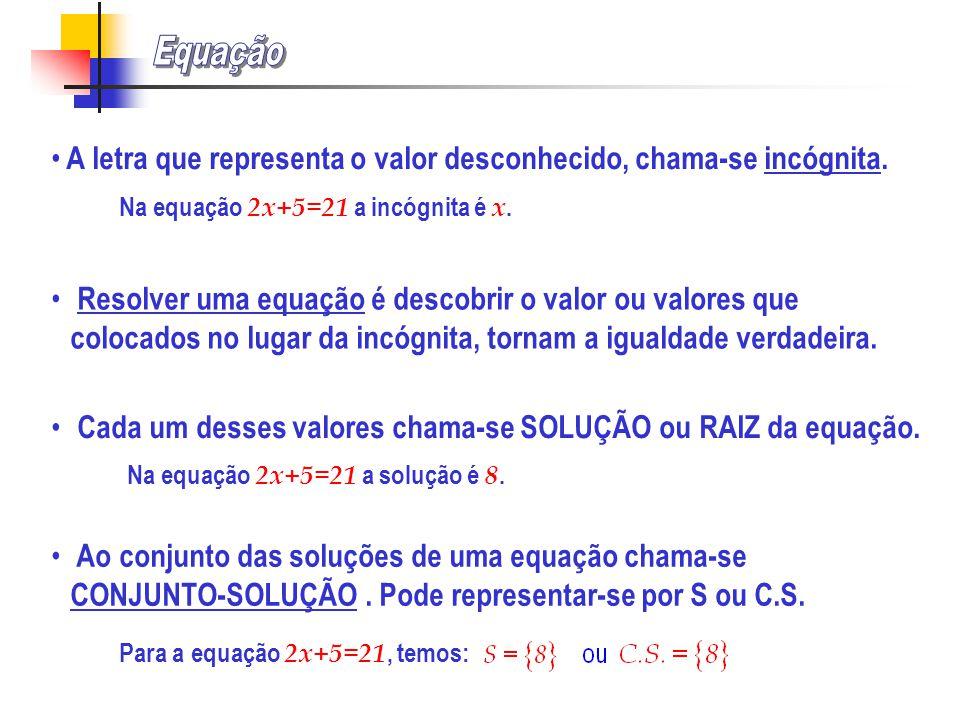 Exercício 44, página 211 De entre as seguintes expressões com variáveis, identifica as equações: