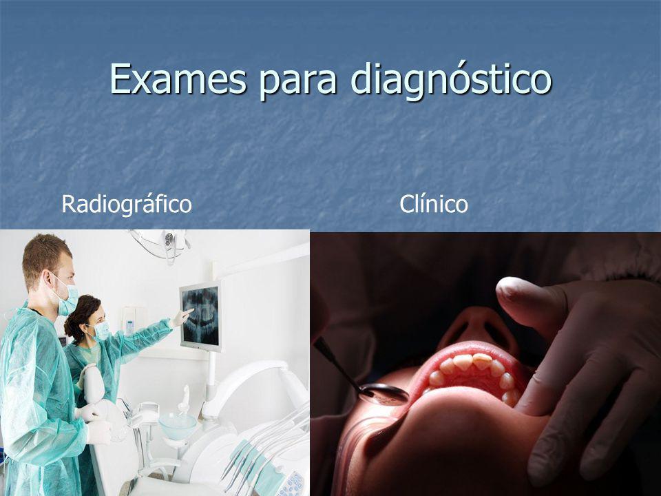 Exames para diagnóstico RadiográficoClínico