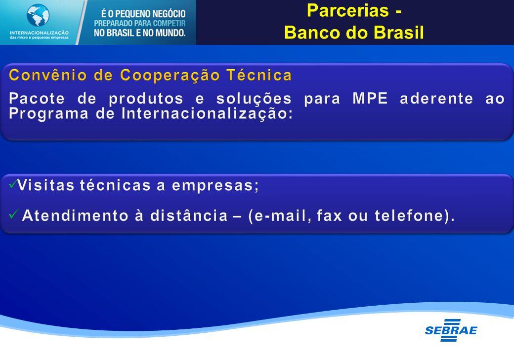 Parcerias - Banco do Brasil