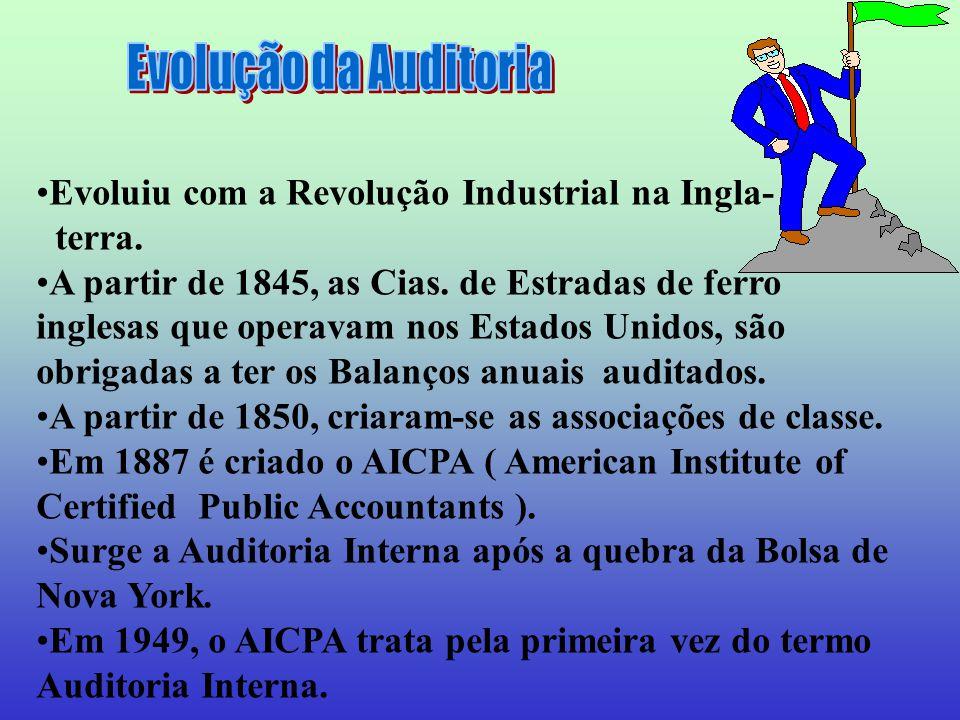 Evoluiu com a Revolução Industrial na Ingla- terra.