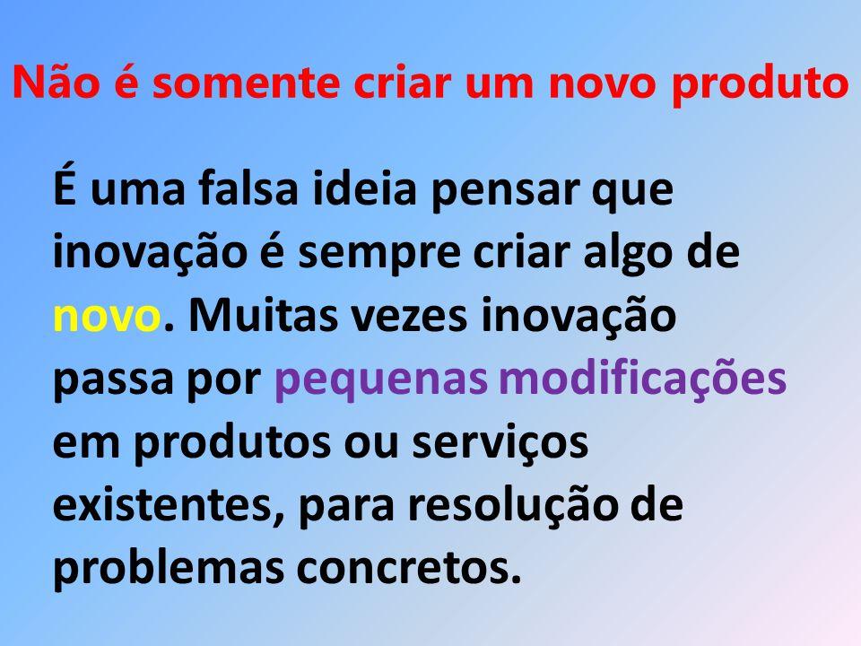 Conclusão Conclui-se que Inovação do Produto é um processo de criação ou modificação de produtos, que passa por diversas fases.