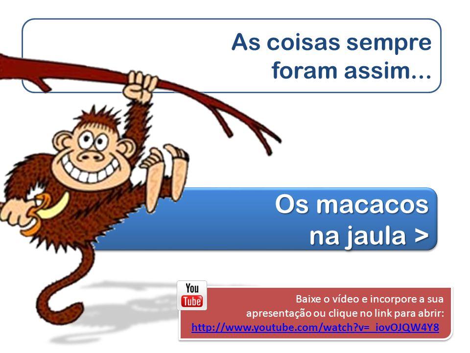 As coisas sempre foram assim... Os macacos na jaula > Os macacos na jaula > Os macacos na jaula > Os macacos na jaula > Baixe o vídeo e incorpore a su
