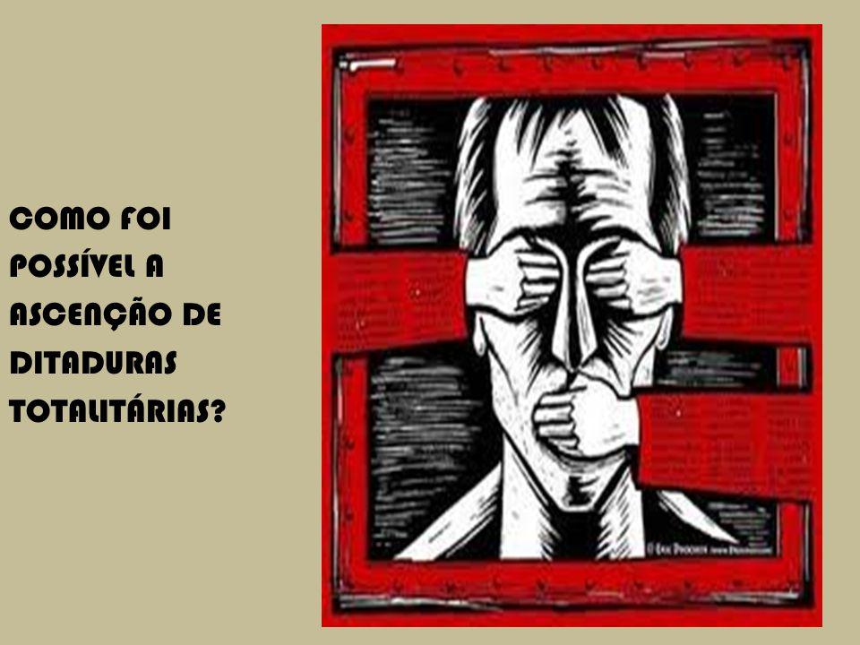 CAPÍTULO 9 COMO FOI POSSÍVEL A ASCENÇÃO DE DITADURAS TOTALITÁRIAS?