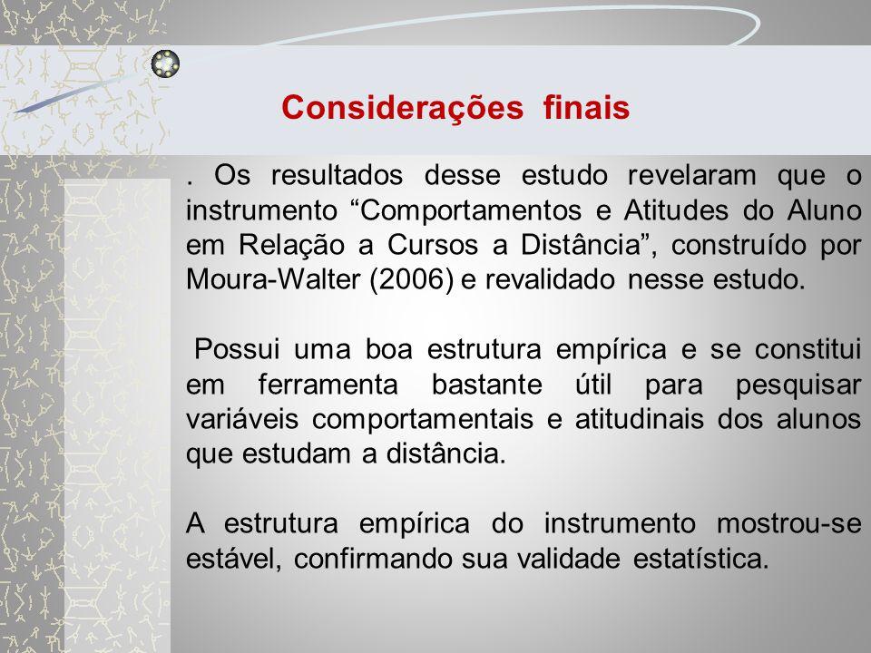 Conforme evidenciado por vários autores (MOORE E KEARLEY, 2007, WALTER-MOURA, 2006 E ABBAD ET AL,2006), o fenômeno da evasão é multidimensional.