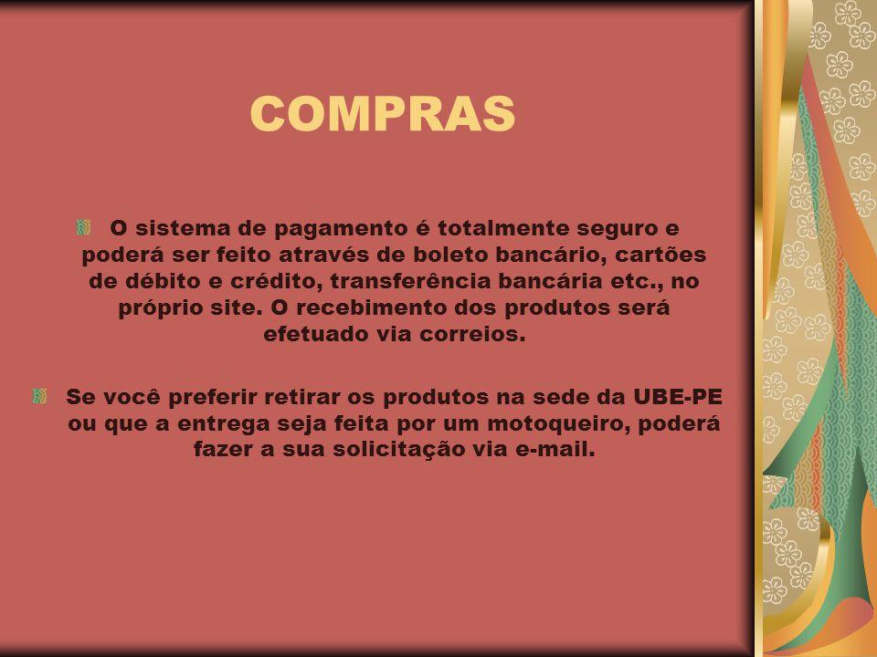 DÚVIDAS E SOLICITAÇÕES contato@livrariaube-pe.com.br UBE-PE Rua de Santana, 202 Casa Forte – Recife-PE Fone: 81 34417488 ube-pe@hotmail.com