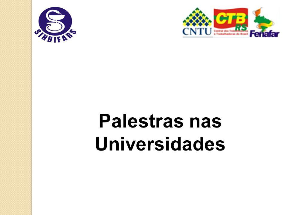 Palestras nas Universidades