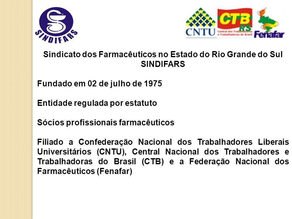 Atividades Gerais 2009 do Sindifars Posse Anfarmag Regional - 2409 Reunião CTB RS - 2909; Reunião Anfarmag - 1910; Reunião Faculdade de Farmácia – UFRGS –2310; Palestra para farmacêuticos em Caxias do Sul - 2310;