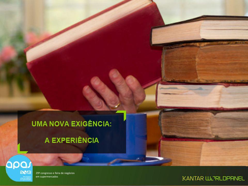 © Kantar Worldpanel UMA NOVA EXIGÊNCIA: A EXPERIÊNCIA
