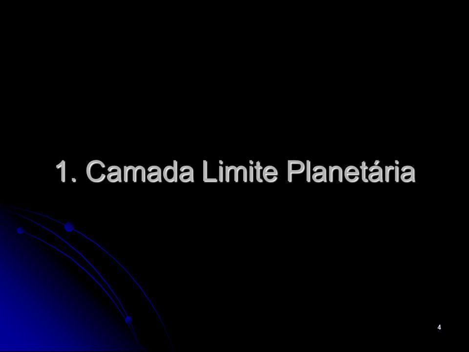4 1. Camada Limite Planetária