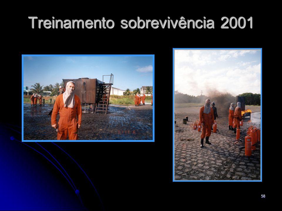 58 Treinamento sobrevivência 2001