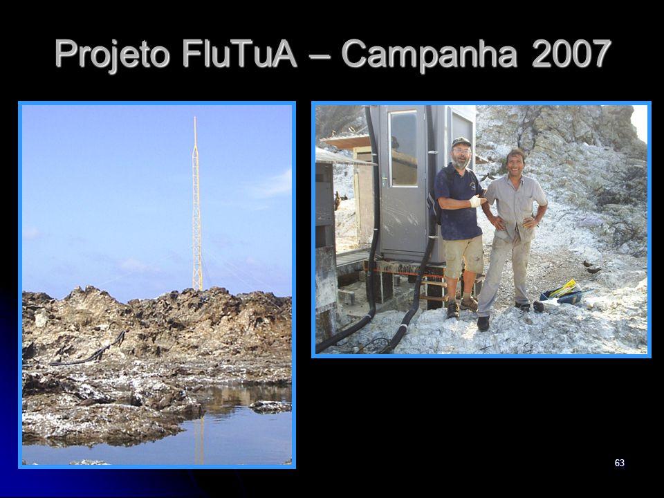 63 Projeto FluTuA – Campanha 2007