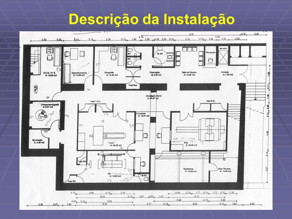 Descrição da Instalação