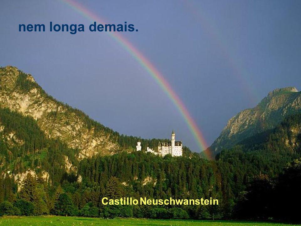 Castillo Moritzburg É o que faz com que ela não seja nem curta,
