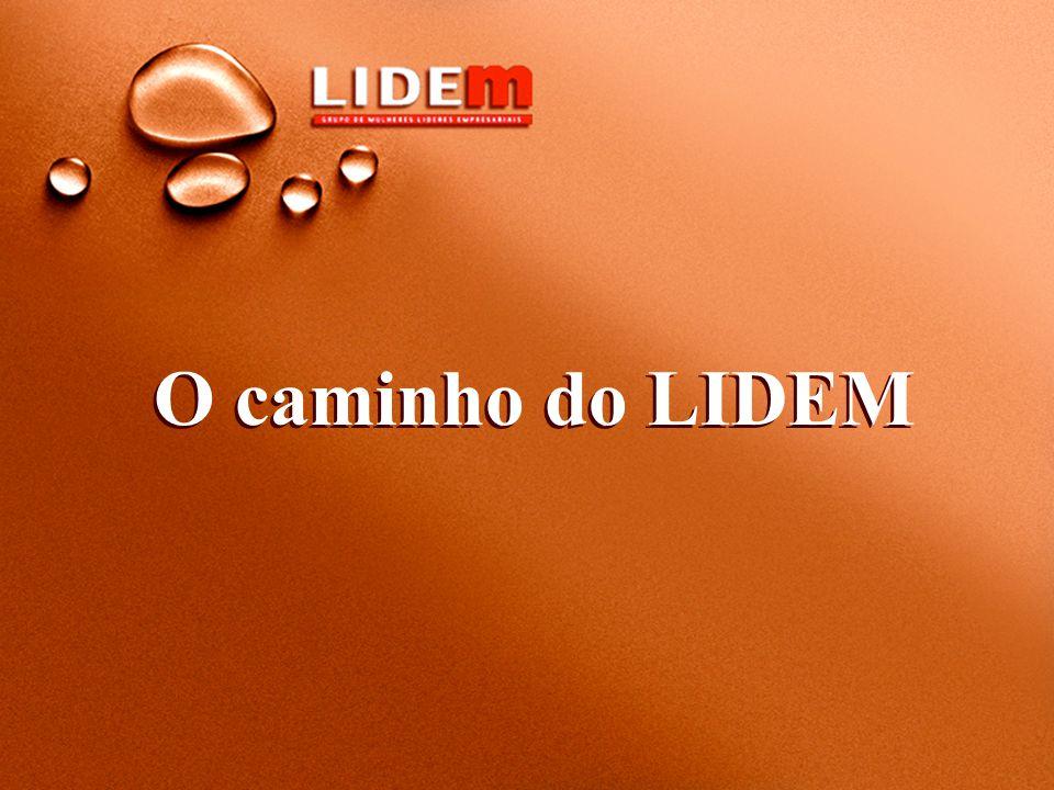 Lideranças femininas - presidente, vice-presidente ou diretora das empresas integrantes do LIDE.