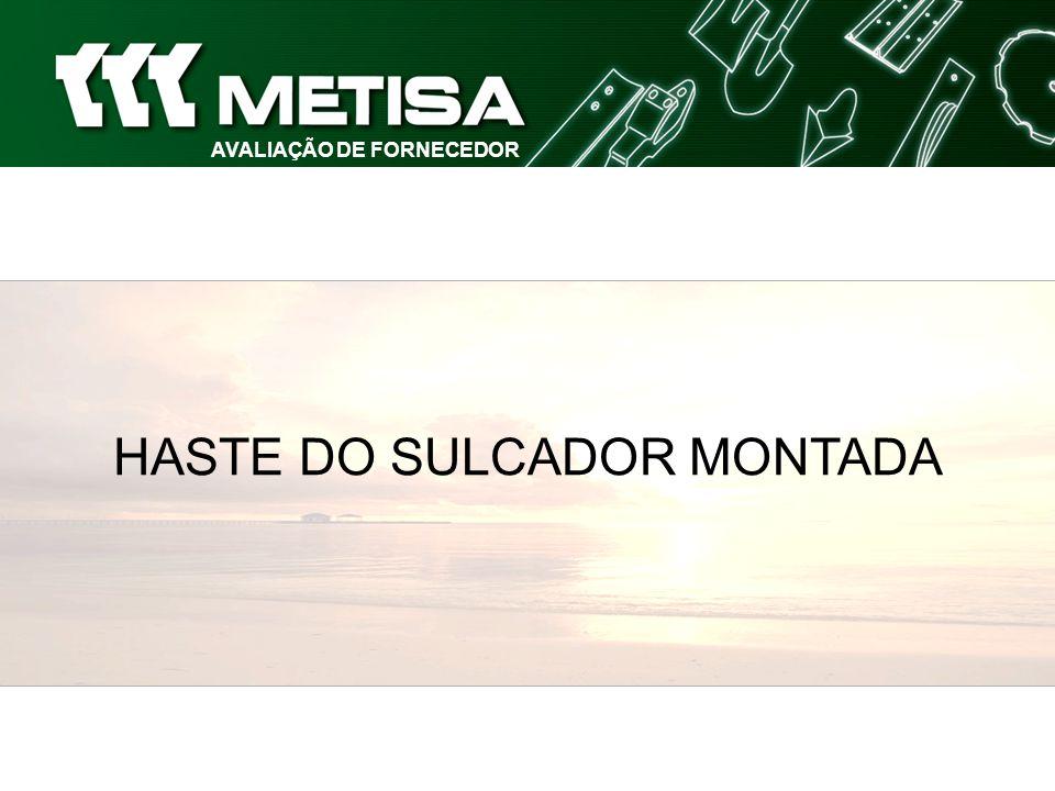 AVALIAÇÃO DE FORNECEDOR HASTE DO SULCADOR MONTADA