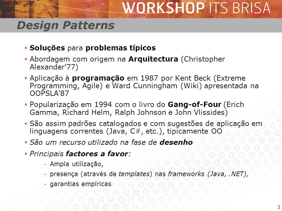 4 iBrisa – Padrões: Componente Se considerado como um padrão (B.