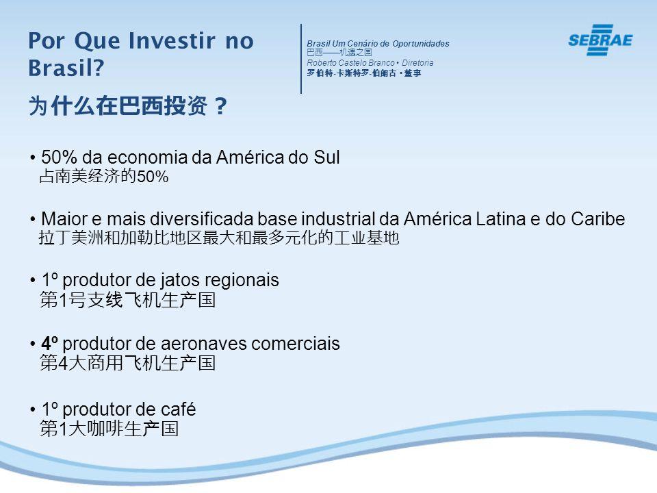 Por Que Investir no Brasil.