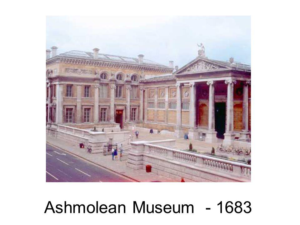 Ashmolean Museum - 1683