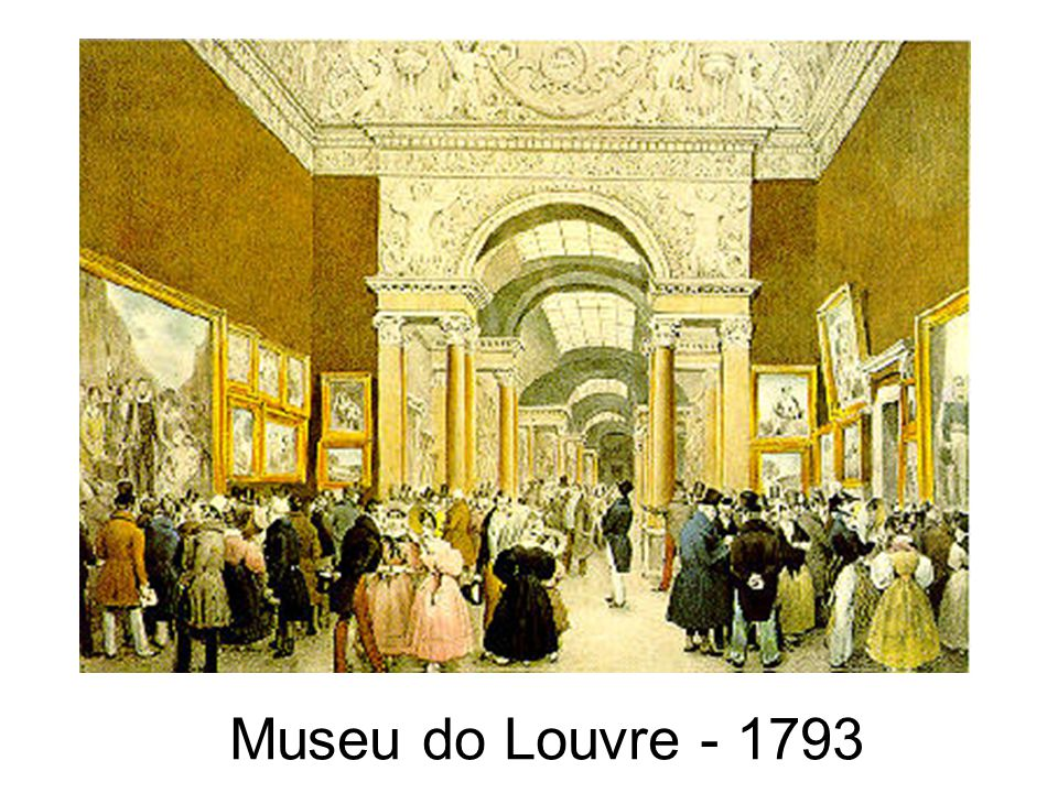 Museu do Louvre - 1793