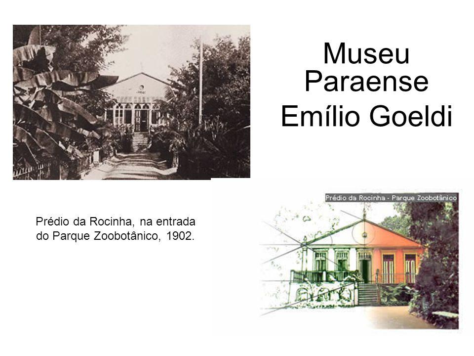Prédio da Rocinha, na entrada do Parque Zoobotânico, 1902. Museu Paraense Emílio Goeldi