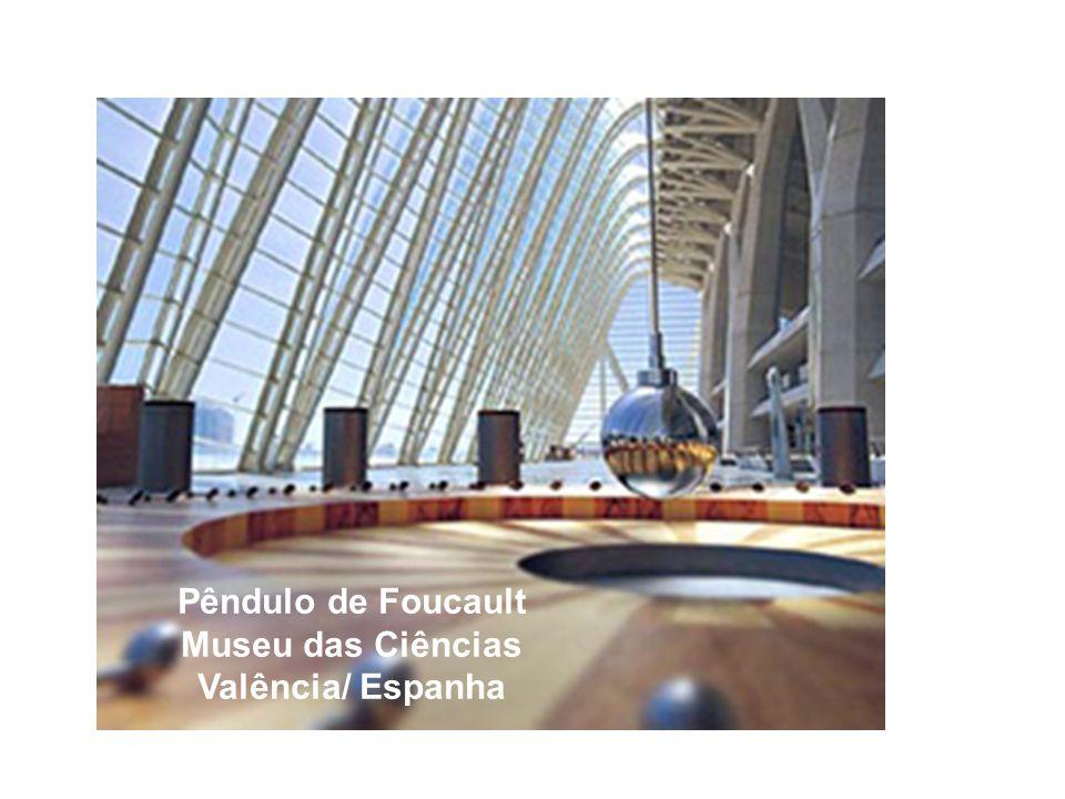 Pêndulo de Foucault Museu das Ciências Valência/ Espanha