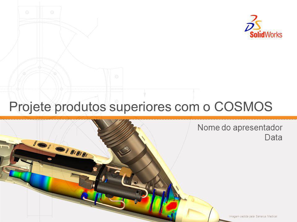 Imagem cedida pela Sanarus Medical Projete produtos superiores com o COSMOS Nome do apresentador Data