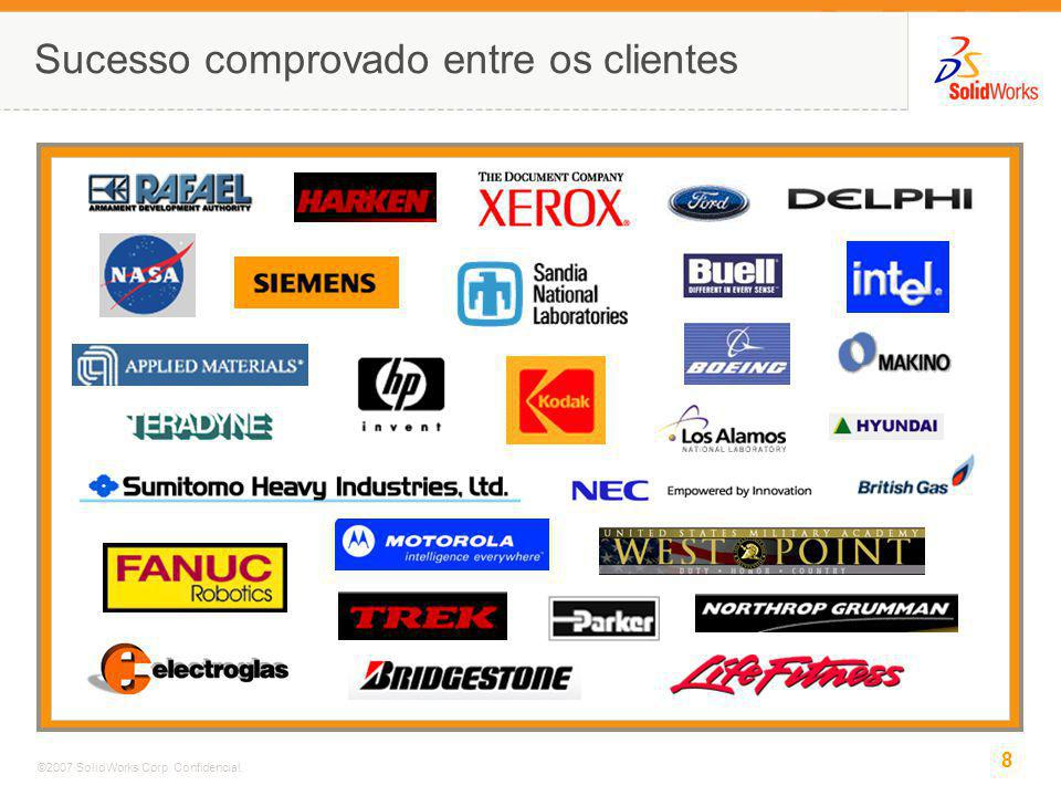 9 ©2007 SolidWorks Corp.Confidencial.
