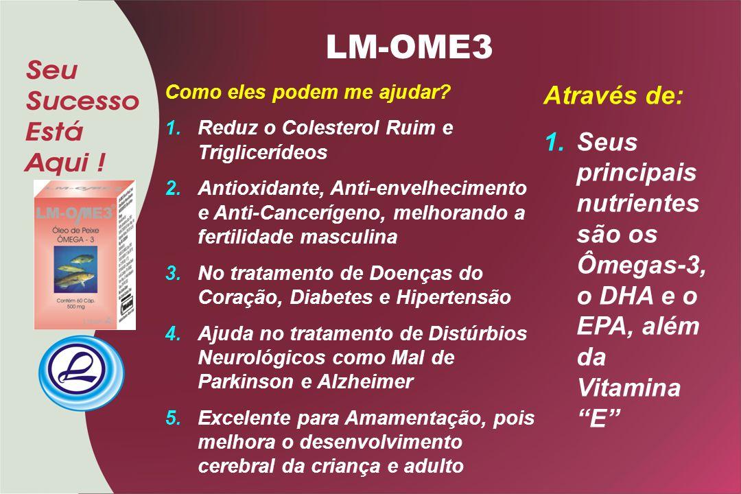 Como eles podem me ajudar? 1.Reduz o Colesterol Ruim e Triglicerídeos 2.Antioxidante, Anti-envelhecimento e Anti-Cancerígeno, melhorando a fertilidade