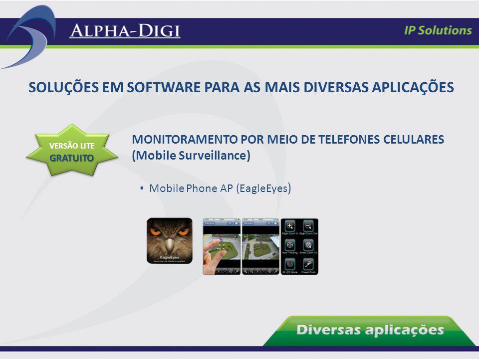 MONITORAMENTO POR MEIO DE TELEFONES CELULARES (Mobile Surveillance) GRATUITO VERSÃO LITE GRATUITO Mobile Phone AP (EagleEyes ) SOLUÇÕES EM SOFTWARE PA
