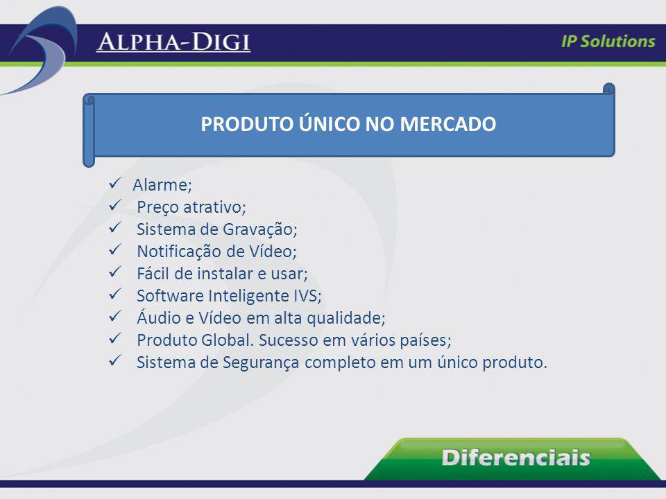 Alarme; Preço atrativo; Sistema de Gravação; Notificação de Vídeo; Fácil de instalar e usar; Software Inteligente IVS; Áudio e Vídeo em alta qualidade