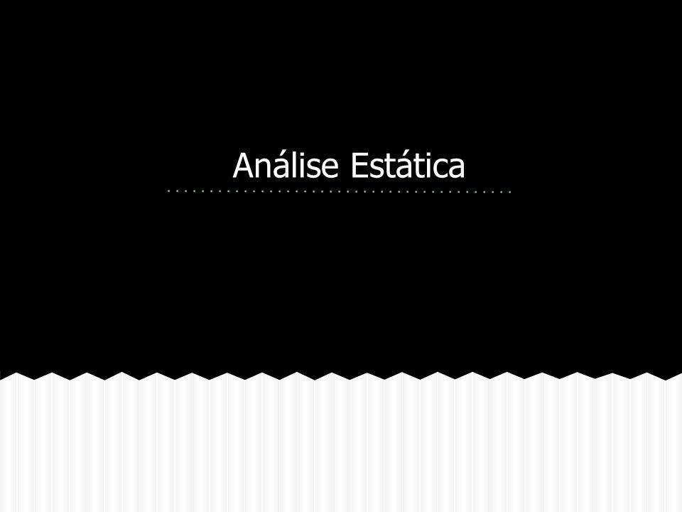 Análise Estática