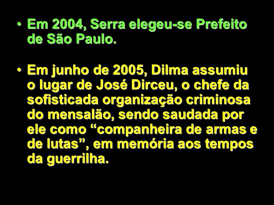 Em 2002, Serra candidatou-se à Presidência, sendo derrotado por Luiz Inácio Lula da Silva.Em 2002, Serra candidatou-se à Presidência, sendo derrotado