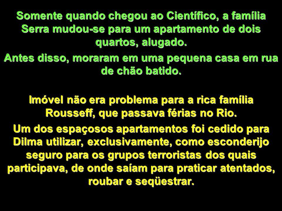 José Serra tem 68 anos, é paulista, filho de imigrantes italianos, o pai vendedor de frutas no Mercado Público, foi criado em uma pequena casa quarto e sala, geminada com outras 24, em São Paulo.