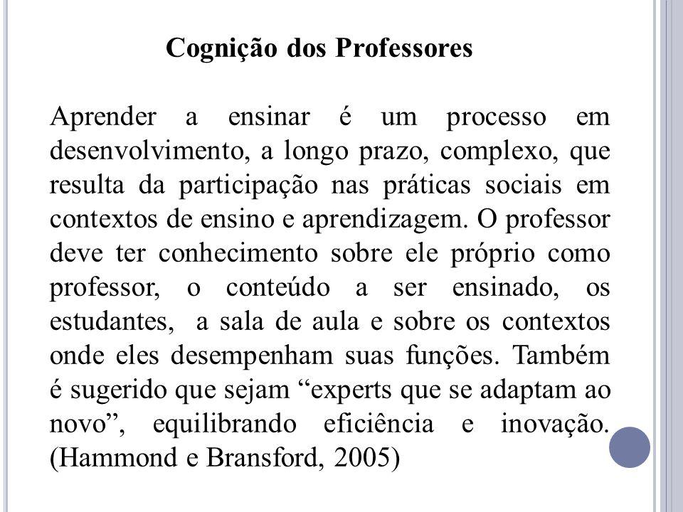 A base de Conhecimento na Formação de Professores de Segunda Língua 1.