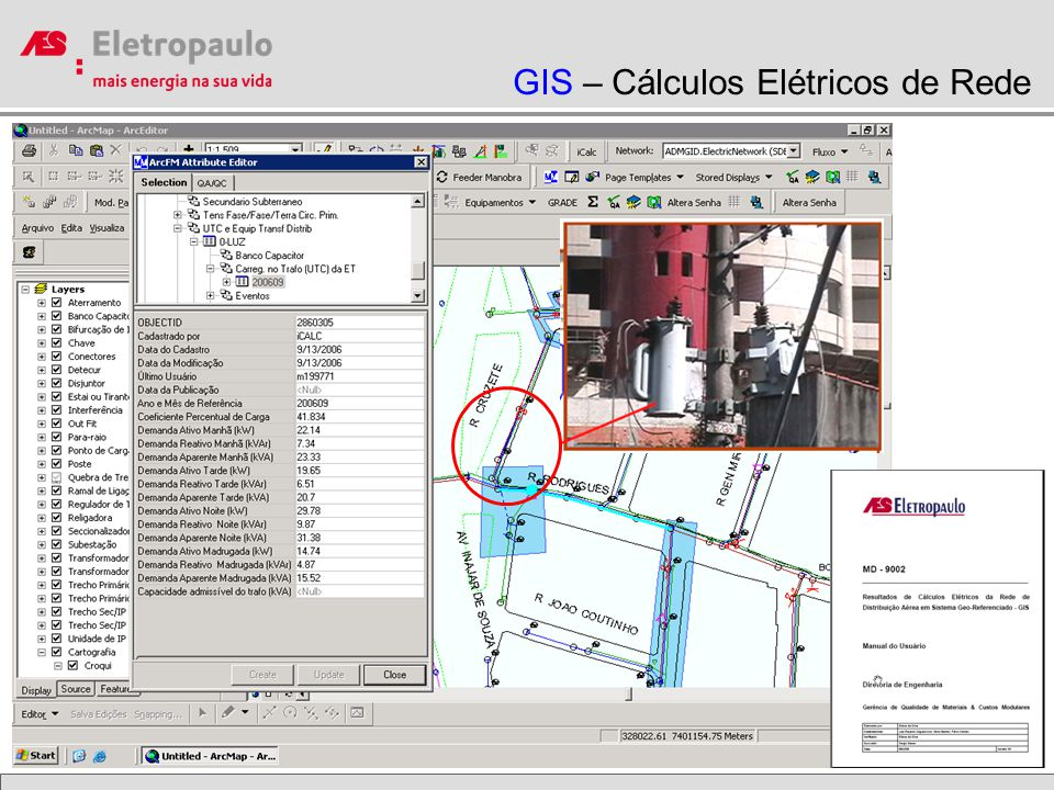 GIS – Cálculos Elétricos de Rede