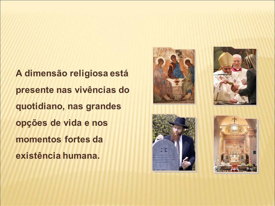 A religião pretende responder às questões fundamentais do ser humano: Quem sou.