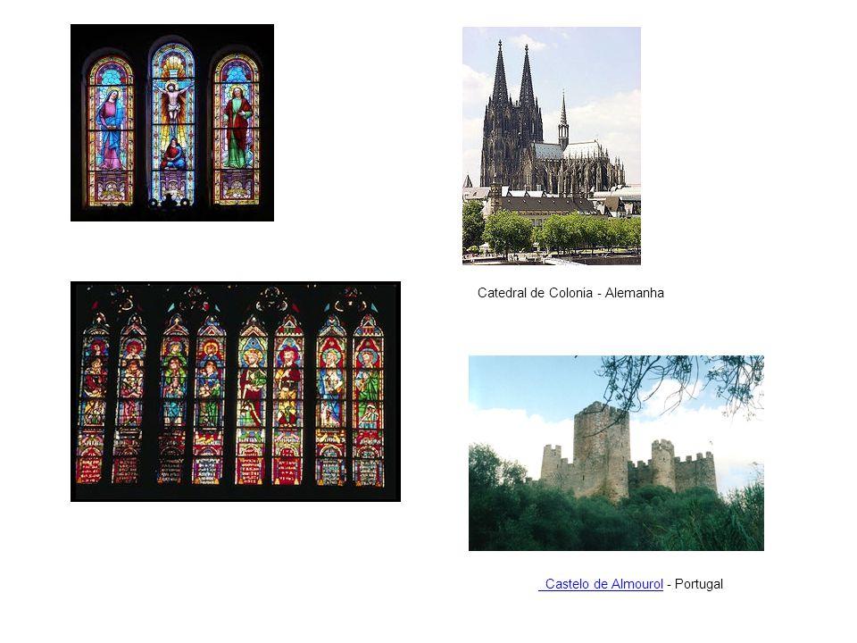 Castelo de Almourol Castelo de Almourol - Portugal Catedral de Colonia - Alemanha