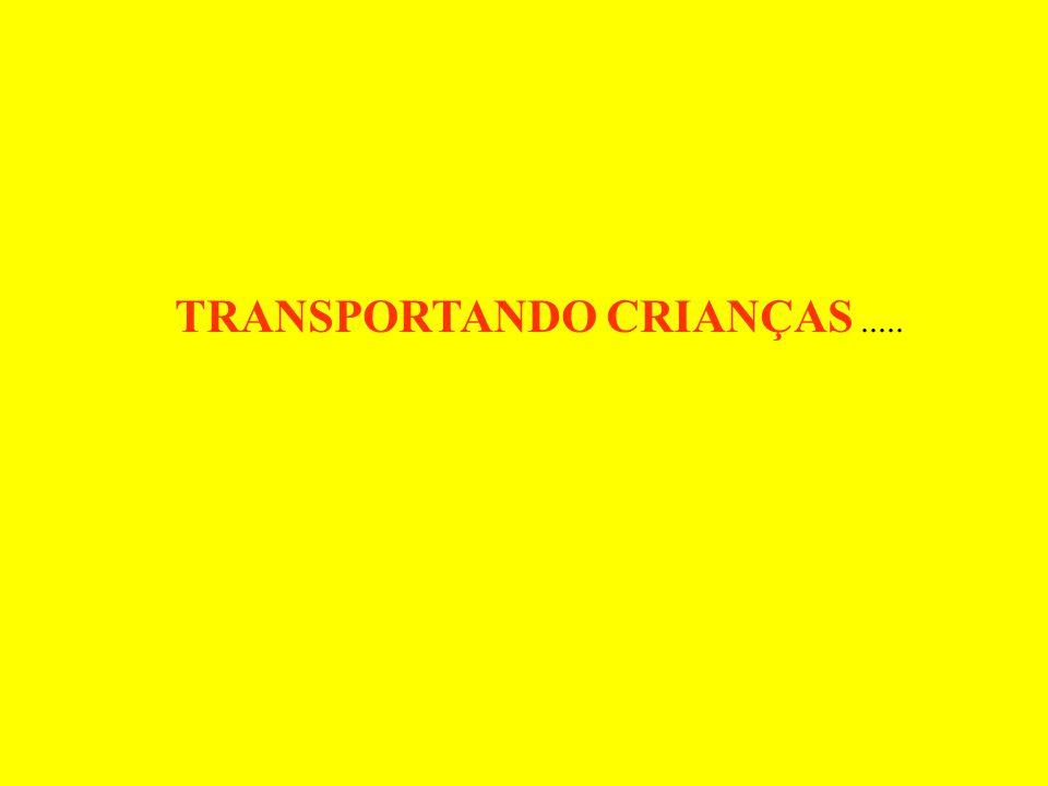 TRANSPORTANDO CRIANÇAS.....