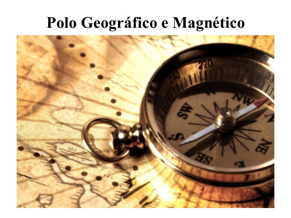Por muito tempo se pensou que o norte geográfico e o norte magnético eram um só.