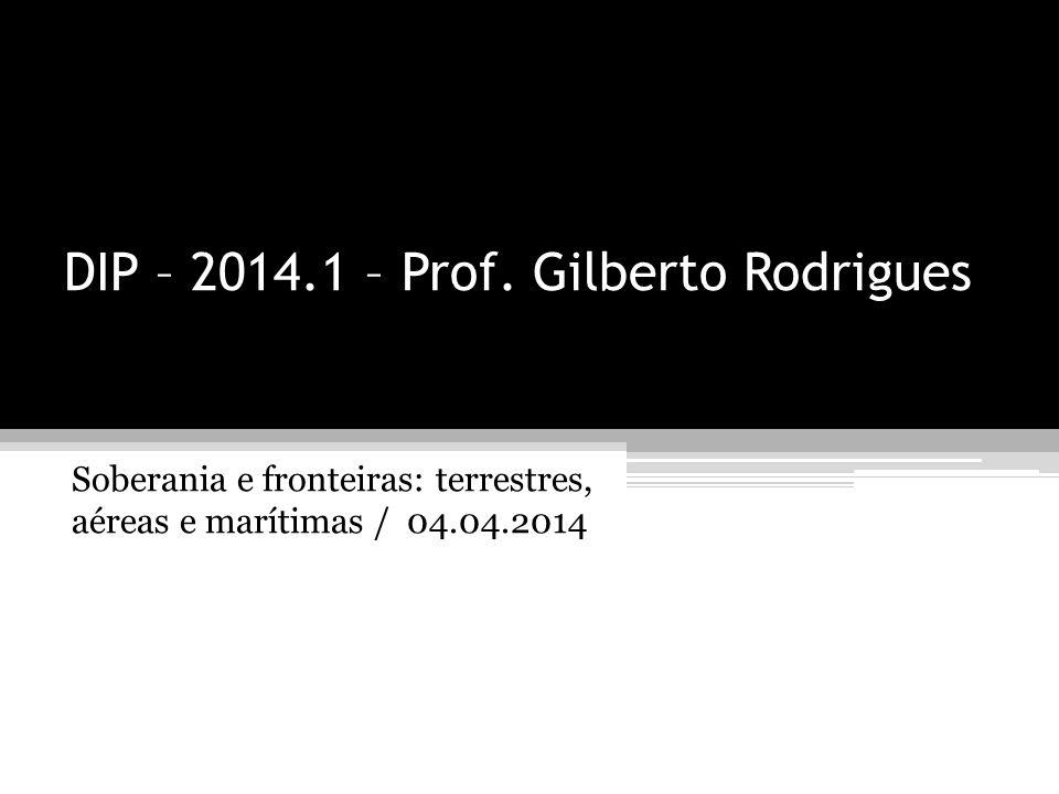 DIP – 2014.1 – Prof.